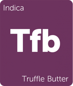 Leafly Truffle Butter indica cannabis strain