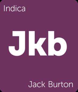 Leafly Jack Burton indica cannabis strain
