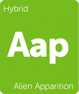 Aap Alien Apparition Leafly cannabis strain tile