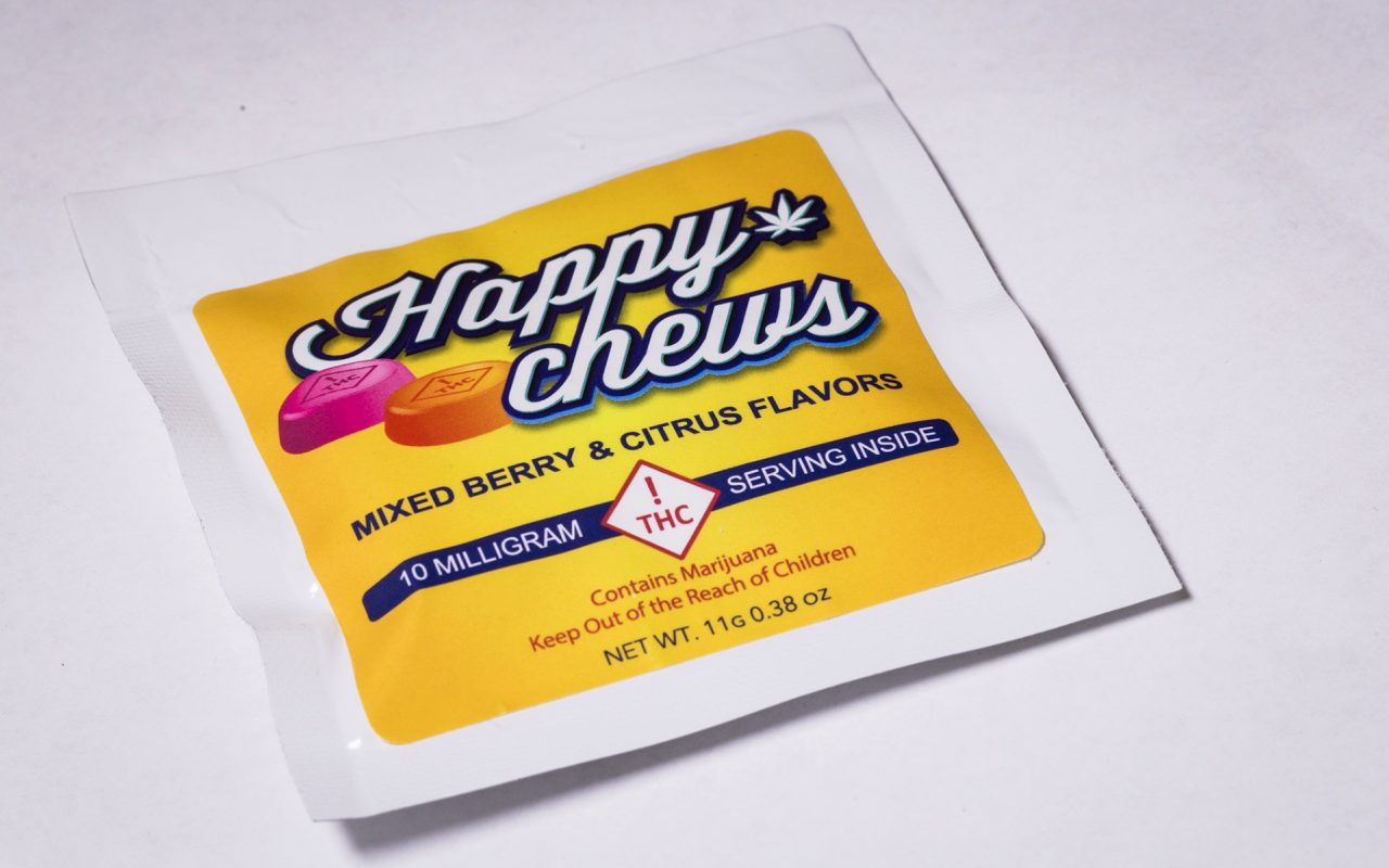Happy Chews Edibles Will Put a Low-Dose Smile on Your Face