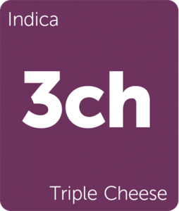 Leafly Triple Cheese indica cannabis strain