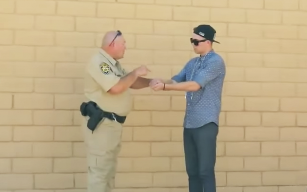 Watch This: A Magician Makes Cannabis Disappear in Front of a Cop