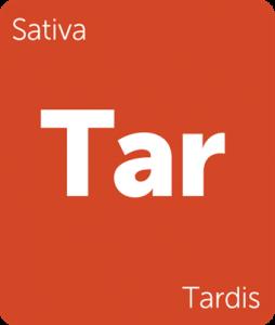 Leafly Tardis sativa cannabis strain