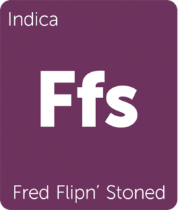 Leafly Fred Flipn' Stoned indica cannabis strain