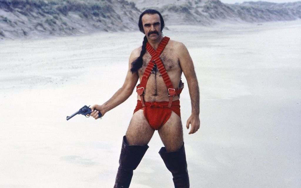 Sean Connery in 'Zardoz'