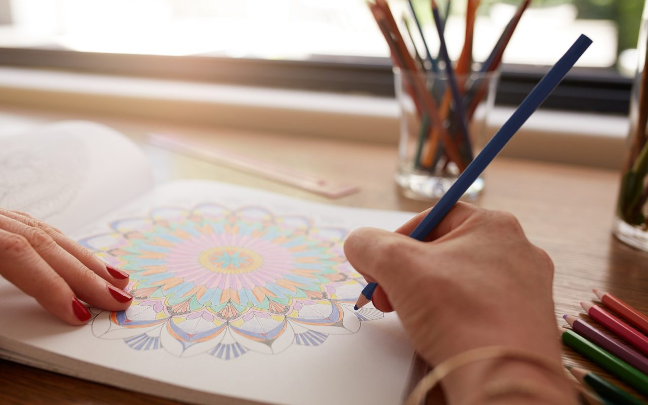 8 adult coloring books that are way better while high leafly Coloring book for adults benefits