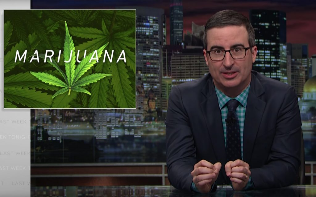 Watch This: John Oliver Breaks Down the Problem With Federal vs. State Cannabis Laws