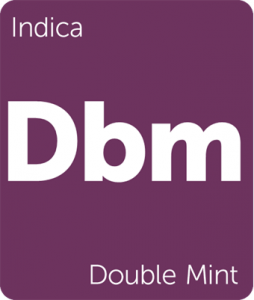 Dbm Double Mint Leafly strain tile