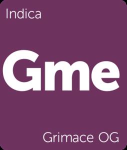 Gme Grimace OG Leafly strain tile