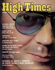 Sept 77 Hunter S Thompson