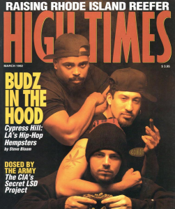 March 92 Cypress Hill Connect Rap to Cannabis