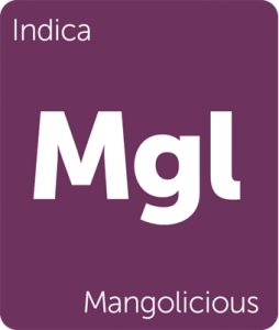 Mgl Mangolicious Leafly cannabis strain tile