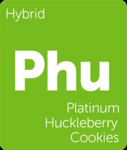 Phu Platinum Huckleberry Cookies Leafly cannabis strain tile