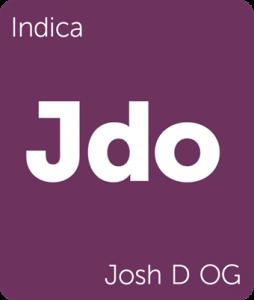 Jdo Josh D OG Leafly cannabis strain tile