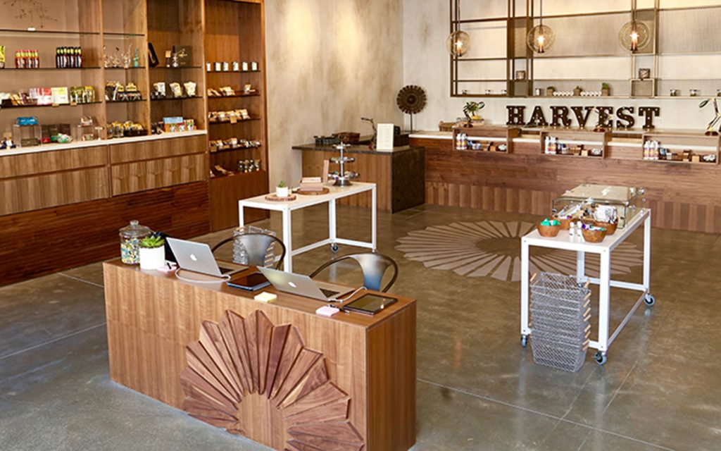 Harvest medical marijuana dispensary in San Francisco, California