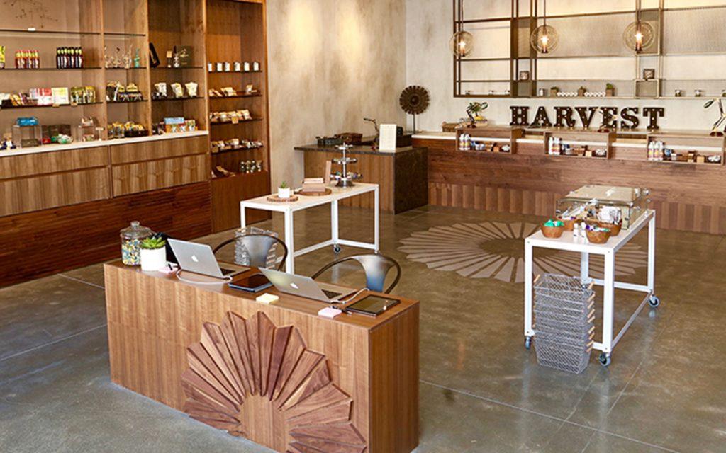 Harvest medical marijuana dispensary in San Francisco, California