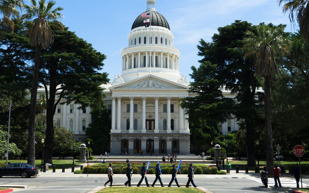 Seat of Power: The California State Capitol in Sacramento, where lawmakers will set the regulations that shape the legal cannabis industry.