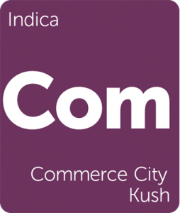 Leafly Commerce City Kush indica cannabis strain