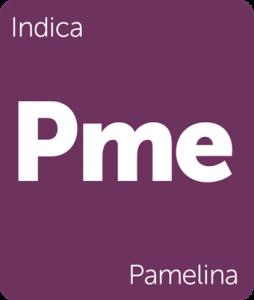 Leafly Pamelina indica cannabis strain