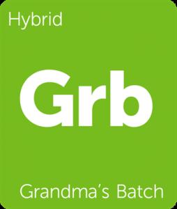Leafly Grandma's Batch hybrid cannabis strain