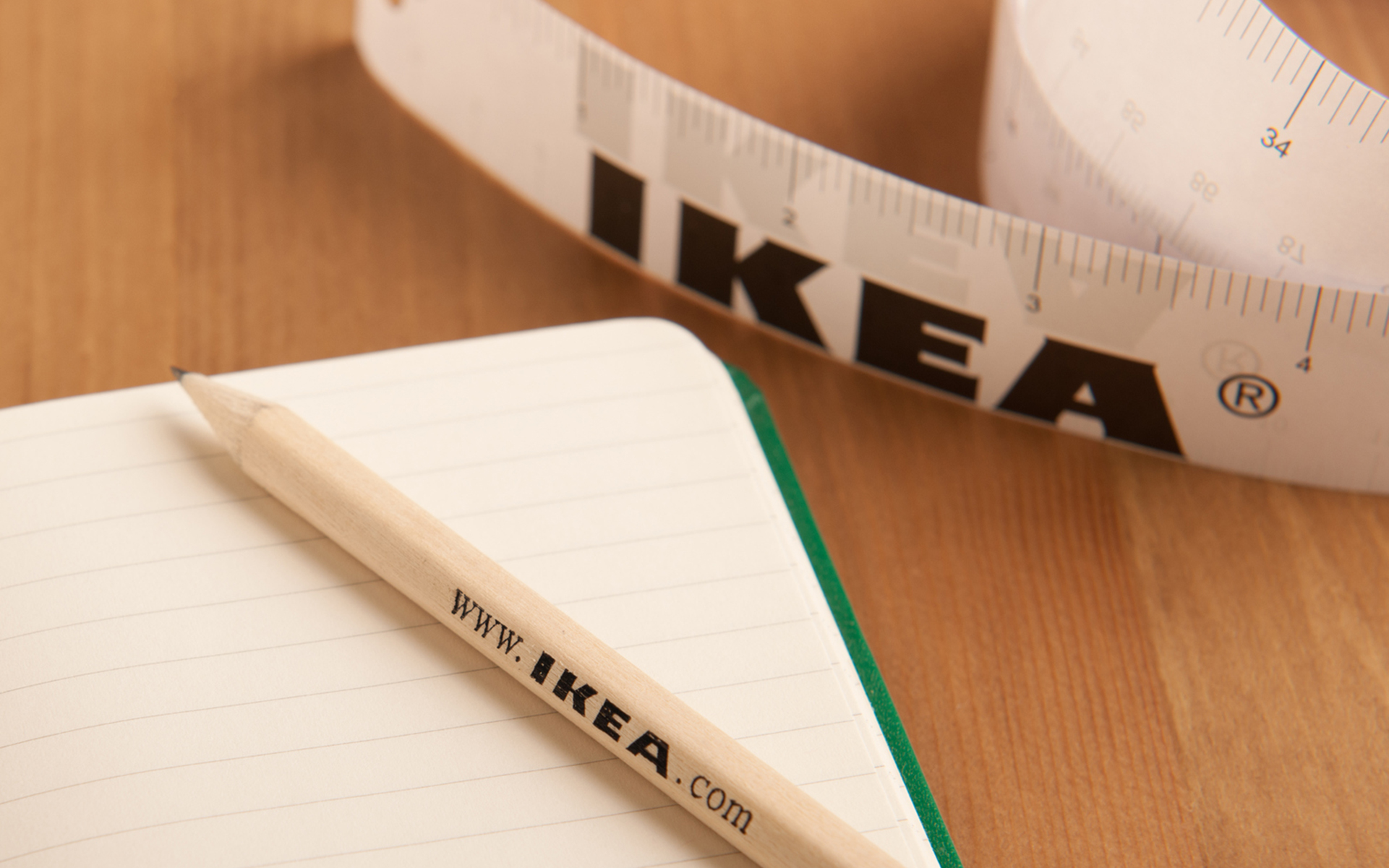 IKEA Pencil and Tape Measure