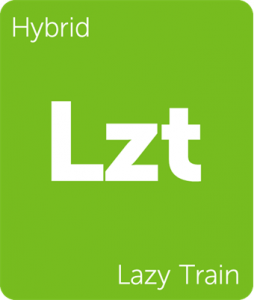 Lzt Lazy Train Leafly cannabis strain tile