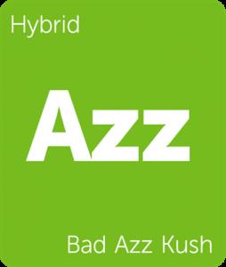 Bad Azz Kush Leafly cannabis strain tile