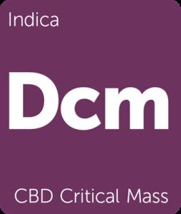 CBD Critical Mass Leafly cannabis strain tile