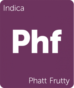 Phatt Frutty Leafly cannabis strain tile