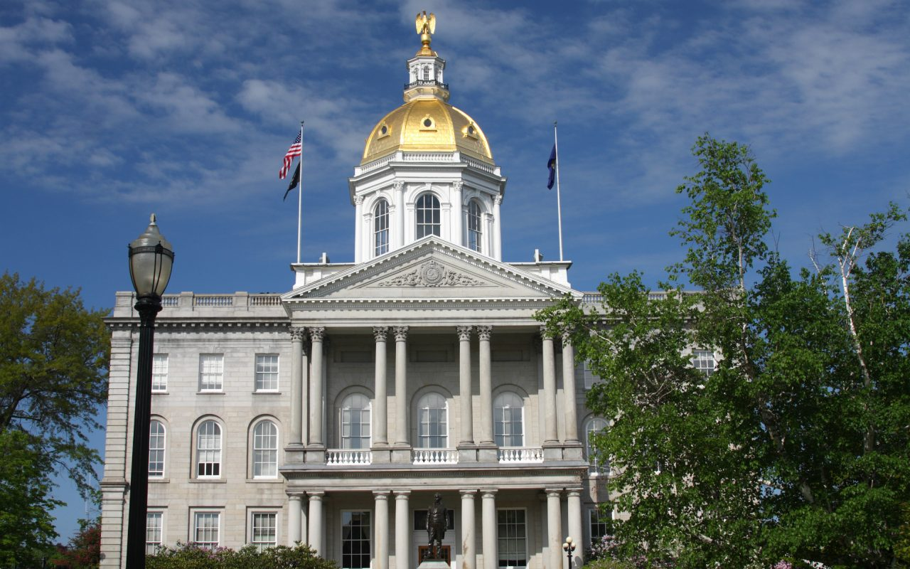 With New Hampshire, all of New England has decriminalized or legalized marijuana