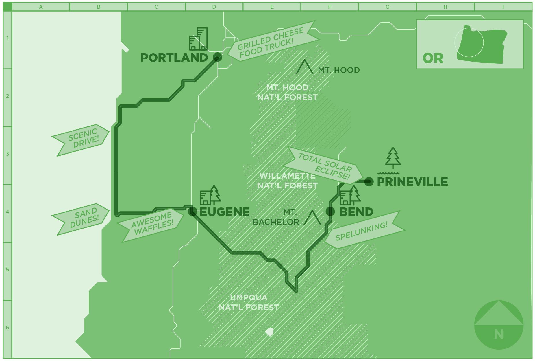 The Ultimate Summer Marijuana Road Trip Through Oregon | Leafly