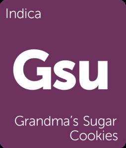 Grandma's Sugar Cookies Leafly cannabis strain tile