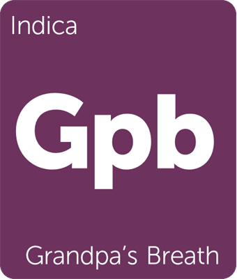 Leafly Grandpa's Breath cannabis strain