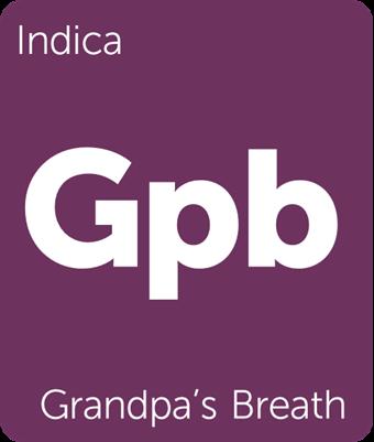 Leafly Grandpa's Breath cannabis strain