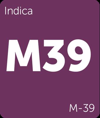Leafly M-39 cannabis strain