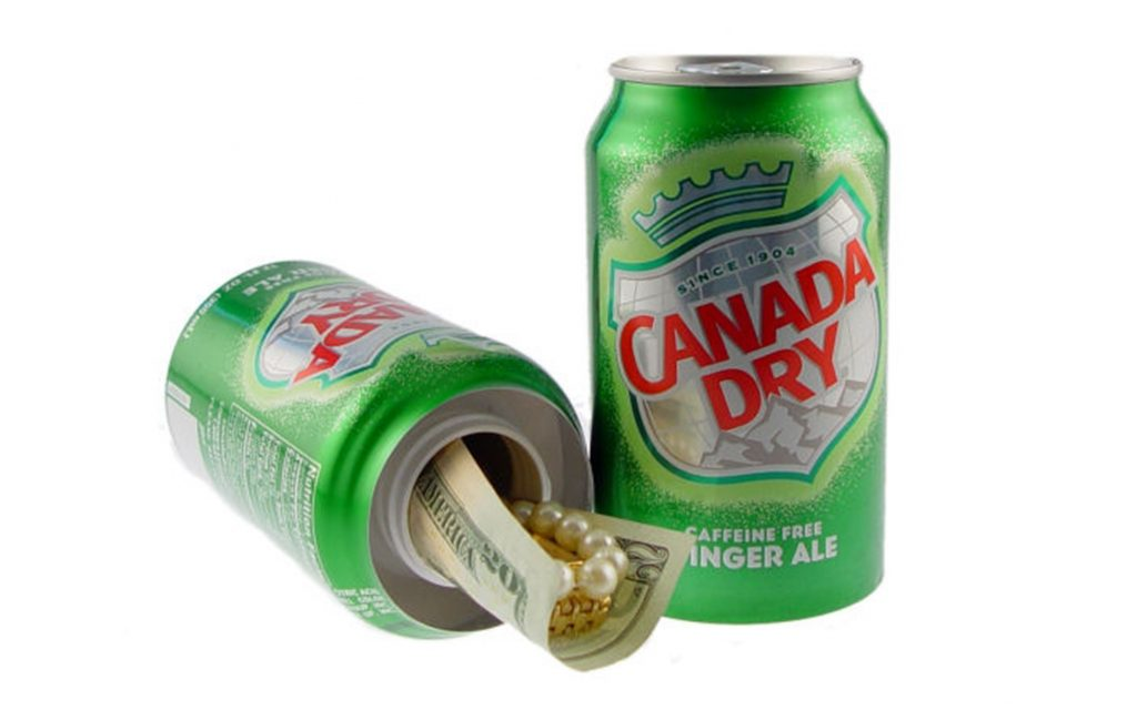 Ginger Ale Can Diversion Safe