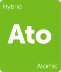 Atomic Leafly Cannabis strain tile