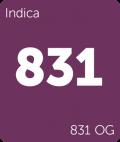 831 OG Leafly cannabis strain tile