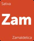 Leafly strain tile Zamaldelica