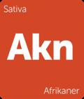 Leafly strain tile Afrikaner
