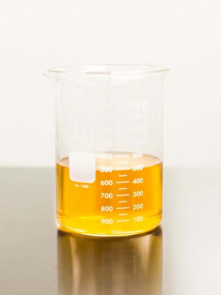 The future of ethanol extraction: a beaker of pure cannabis extract