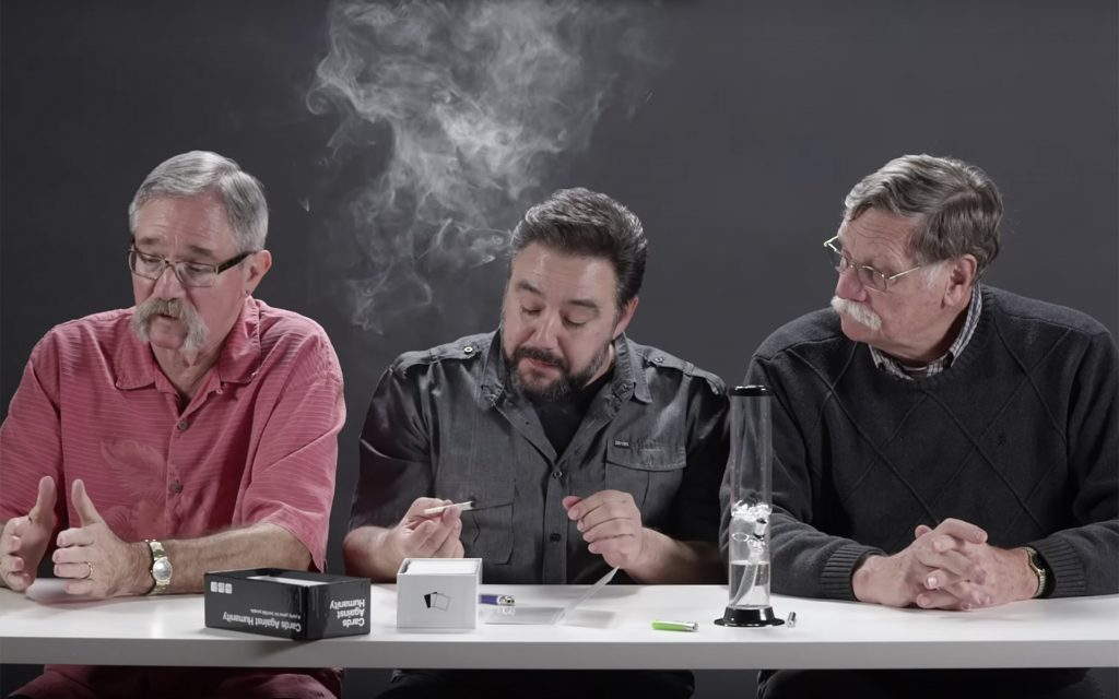 Watch This: Three Former Cops Smoke Cannabis Together