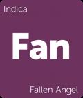 Fallen Angel Leafly cannabis strain tile