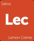 Lemon Creme Leafly cannabis strain tile