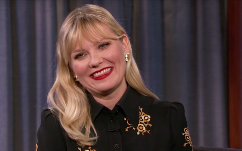 Watch This Kirsten Dunst Accidentally Smoked A Blunt On The Set Of Her New Movie