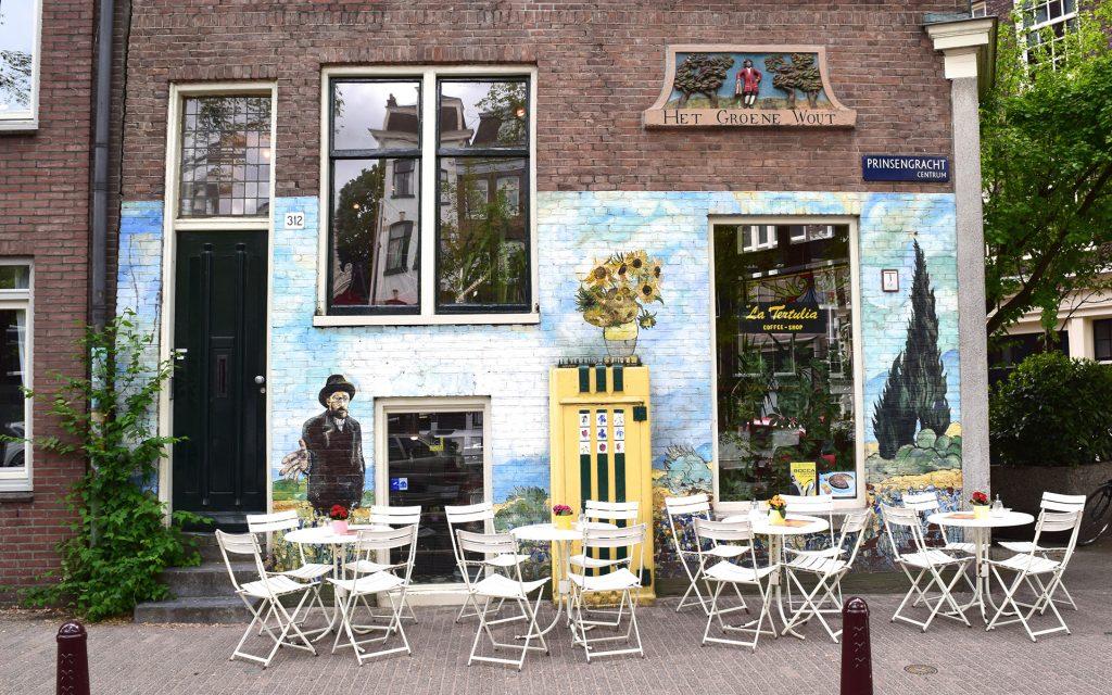 Amsterdam Cannabis Coffeeshop: La Tertulia