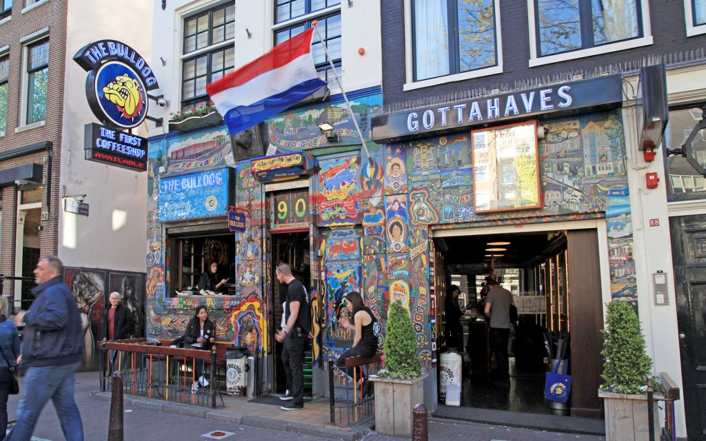 Amsterdam Cannabis Coffeeshop: The Bulldog