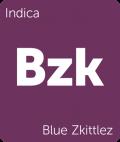 Blue Zkittlez Leafly cannabis strain tile