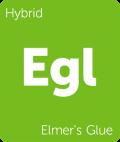 Elmer's Glue Leafly cannabis strain tile