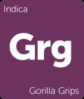 Gorilla Grips Leafly cannabis strain tile